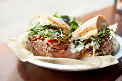 Sourdough Bread「Roast beef sandwich」:スマホ壁紙(14)