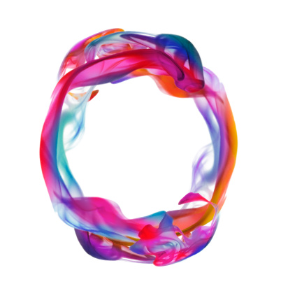 Hope - Concept「Colorful liquid circle」:スマホ壁紙(12)