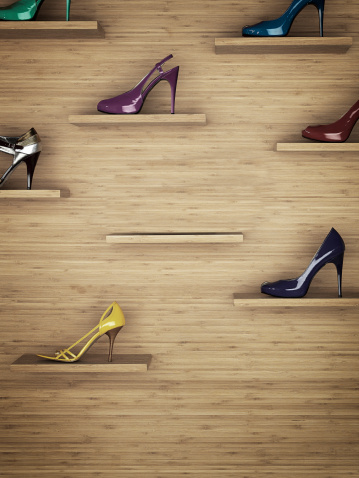 Sale「Women shoes rack」:スマホ壁紙(4)