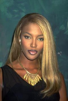 1990-1999「Super model Naomi Campbell...」:写真・画像(15)[壁紙.com]