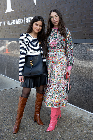 Lantern Sleeve「Street Style - February 2021 - New York Fashion Week: The Shows」:写真・画像(2)[壁紙.com]