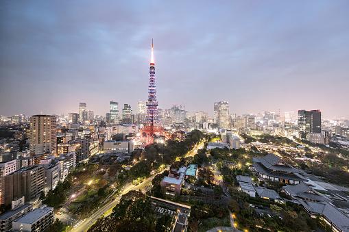 Tokyo Tower「Tokyo - Japan」:スマホ壁紙(14)