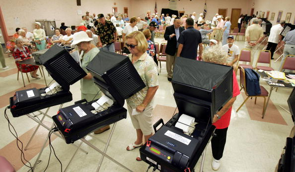 Machinery「Florida Voters Go To The Polls」:写真・画像(19)[壁紙.com]