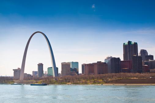 Arch - Architectural Feature「Skyline of Saint Louis」:スマホ壁紙(2)