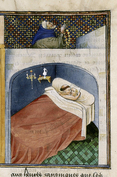 Medieval「The Monk Sleeps With The Wife While The Husband Is Praying」:写真・画像(4)[壁紙.com]