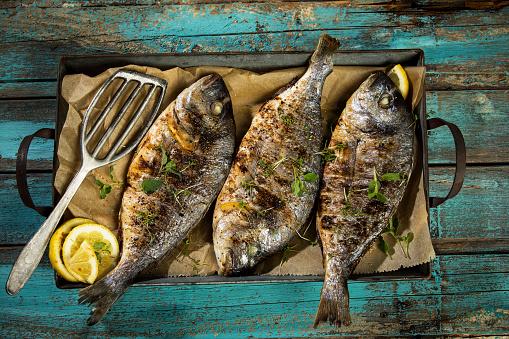 Mediterranean Food「Grilled sea breams」:スマホ壁紙(15)