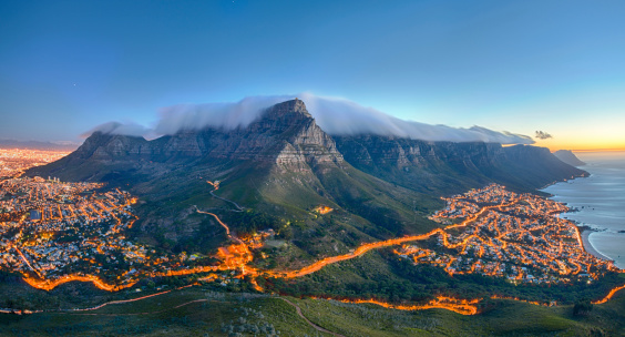 South Africa「Table Mountain, Cape Town, South Africa」:スマホ壁紙(2)