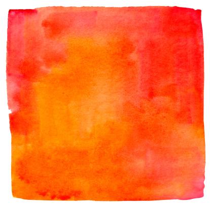 Art And Craft「Lukianchik Peach watercolour square」:スマホ壁紙(9)