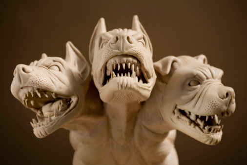 Aggression「Dangerous dog with three heads」:スマホ壁紙(18)