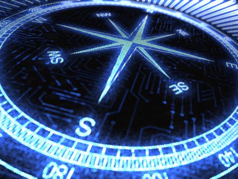 Circuit Board「Compass 3d」:スマホ壁紙(19)