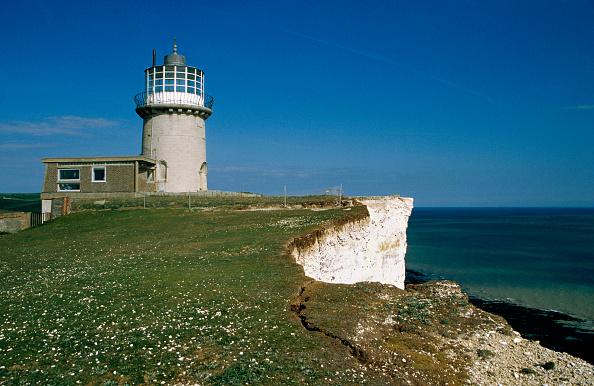 Grass「Belle Tout Lighthouse, Beachy Head, Sussex, UK」:写真・画像(8)[壁紙.com]