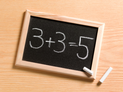 Chalk - Art Equipment「Child's incorrect maths answer」:スマホ壁紙(4)