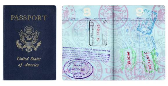 Legal System「US passport with travel visas」:スマホ壁紙(17)