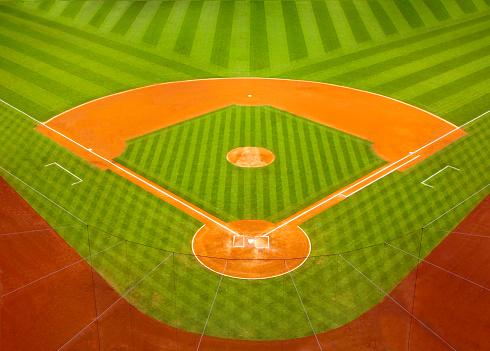 Animal Behavior「View of baseball empty field.」:スマホ壁紙(15)