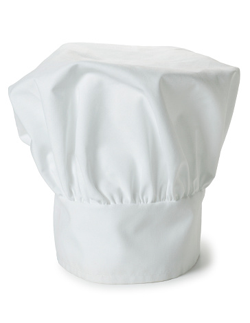 Uniform「Chef's Hat Isolated on White Background」:スマホ壁紙(14)