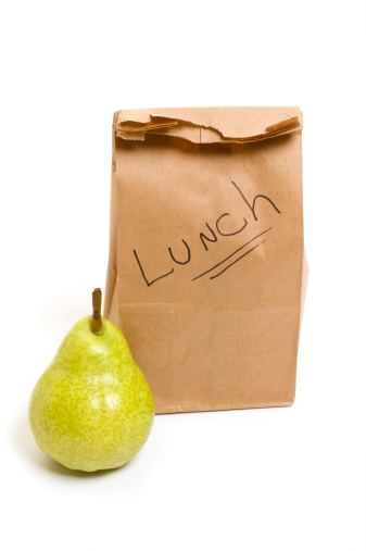 Inexpensive「Packed bag lunch with bartlett pear for school or office」:スマホ壁紙(2)