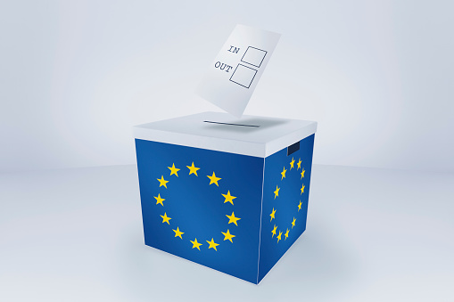 Voting Ballot「Voting in/out at EU Ballot Box」:スマホ壁紙(3)