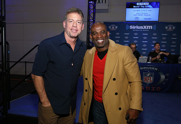 ダラスカウボーイズ「SiriusXM at Super Bowl 50 Radio Row - Day 1」:写真・画像(13)[壁紙.com]