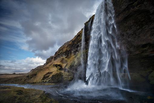 Dramatic Landscape「SELJALANDSFOSS_Iceland」:スマホ壁紙(2)