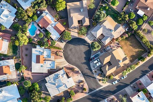 Rooftop「Upper Middle Class Neighborhood Aerial」:スマホ壁紙(2)