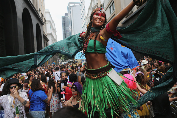 South America「Unofficial Opening Of Carnival In Rio De Janeiro」:写真・画像(8)[壁紙.com]