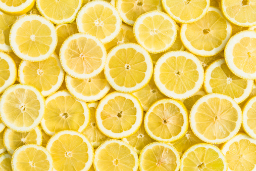 Slice of Food「lemon background」:スマホ壁紙(13)