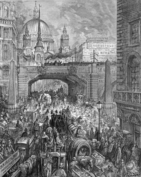 Central London「Ludgate Hill - A Block In The Street」:写真・画像(1)[壁紙.com]