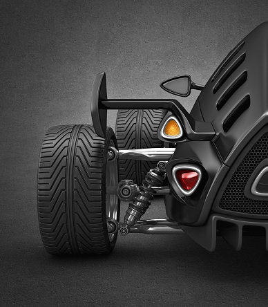 Hot Rod Car「rear lights」:スマホ壁紙(17)