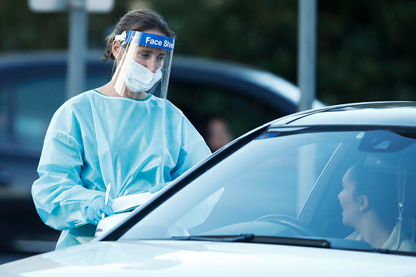 Melbourne - Australia「Victoria Records New COVID-19 Death As Coronavirus Cases Rise」:写真・画像(7)[壁紙.com]