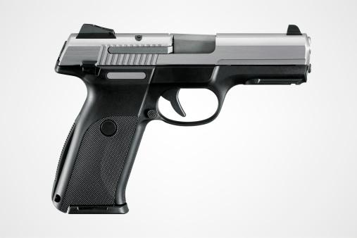 Weapon「Gun With Clipping Path」:スマホ壁紙(7)