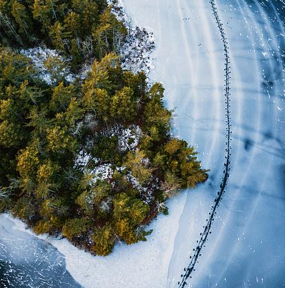Pack Ice「Kayakers Frozen Path」:スマホ壁紙(8)