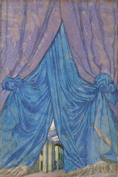 Curtain「Design Of Curtain For The Ballet Sleeping Beauty By P. Tchaikovsky」:写真・画像(2)[壁紙.com]