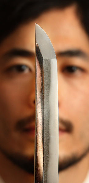 Sword「Armour And Swords Auctioned At Japanese Sale」:写真・画像(16)[壁紙.com]