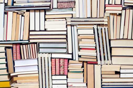 Writing「Large group of books」:スマホ壁紙(9)