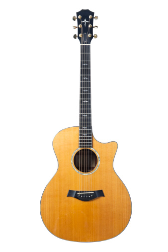 Clipping Path「High-end acoustic guitar」:スマホ壁紙(17)