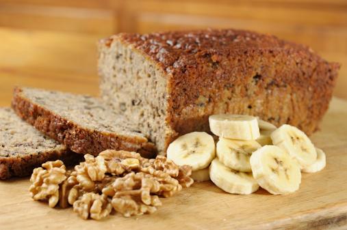 Nut - Food「Banana bread」:スマホ壁紙(10)
