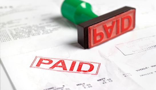 Paying「Paid invoice」:スマホ壁紙(8)