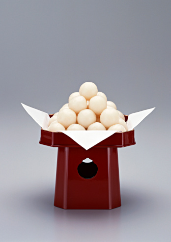 Wagashi「Dumplings Offered to the Moon」:スマホ壁紙(13)