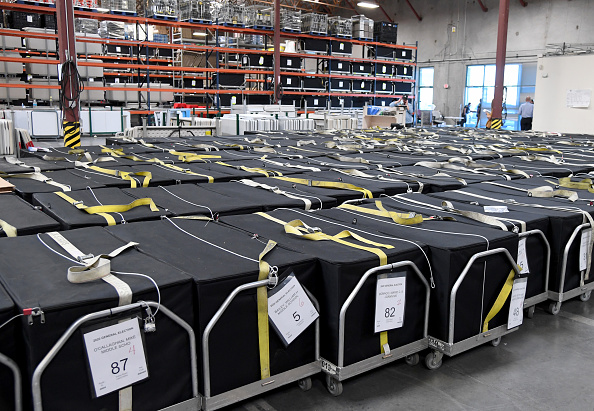 Machinery「Clark County Election Officials Continue Vote Tabulation」:写真・画像(14)[壁紙.com]