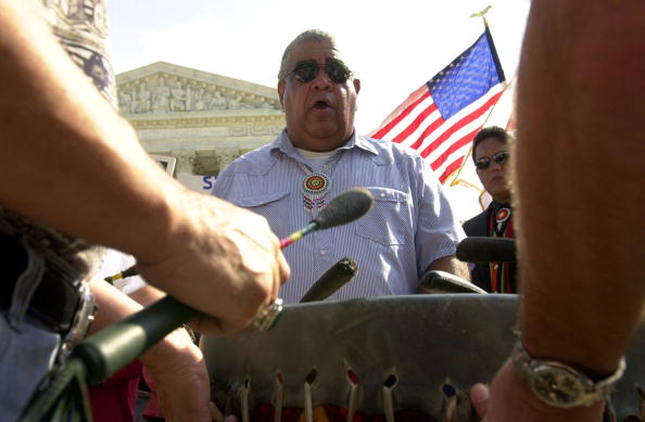 Stefan Zaklin「Indians Hold Rally In Front Of Supreme Court」:写真・画像(6)[壁紙.com]