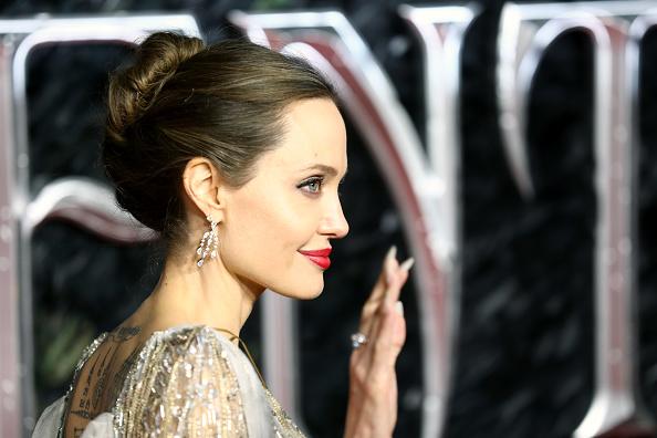 """アンジェリーナ・ジョリー「""""Maleficent: Mistress Of Evil"""" European Premiere - Red Carpet Arrivals」:写真・画像(14)[壁紙.com]"""