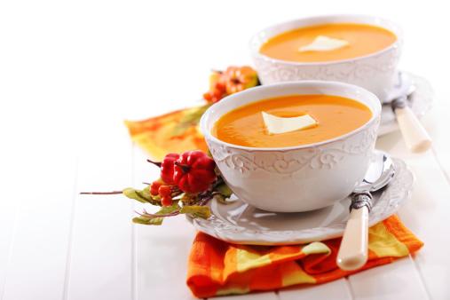 Hokkaido「Pumpkin creme soup with melted butter」:スマホ壁紙(12)