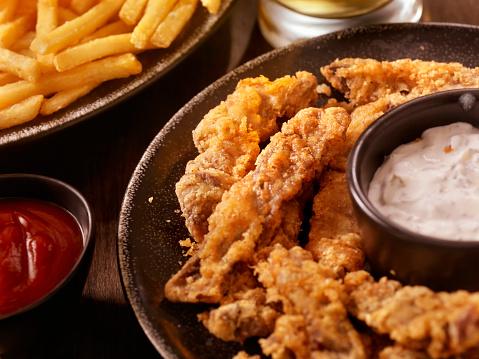 Chicken Meat「Steak Fingers with French Fries」:スマホ壁紙(7)