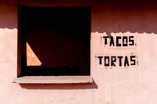 Mexico「Empty taco stand in town.」:スマホ壁紙(7)
