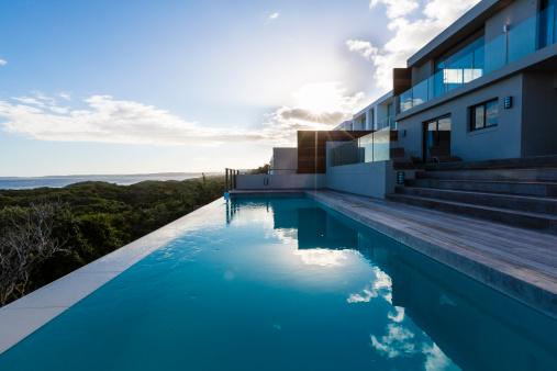 Infinity Pool「Luxury Villa Pool Deck」:スマホ壁紙(12)