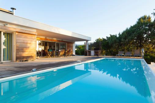 Infinity Pool「Luxury Villa with Swimming Pool」:スマホ壁紙(9)