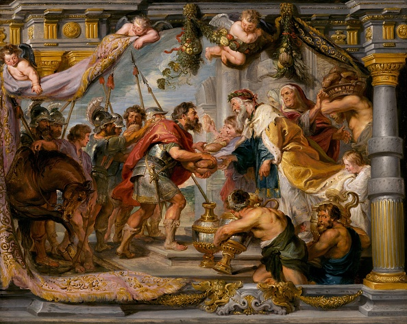 Baroque Style「The Meeting Of Abraham And Melchizedek」:写真・画像(14)[壁紙.com]