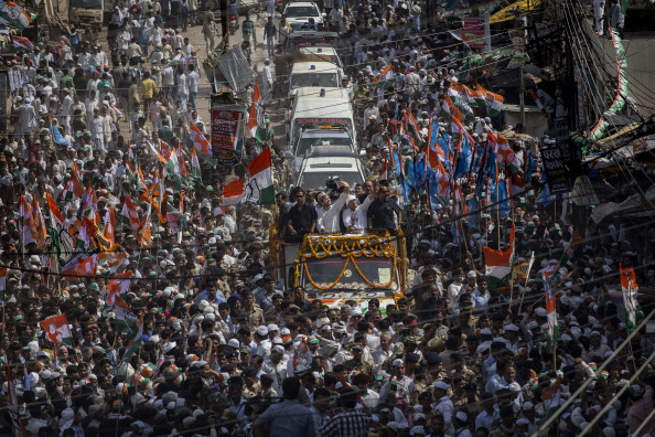 Politics「Candidates Campaign In Final Round Of Indian Elections」:写真・画像(11)[壁紙.com]