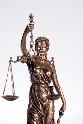 Legal System「Justitia figur, close-up」:スマホ壁紙(8)