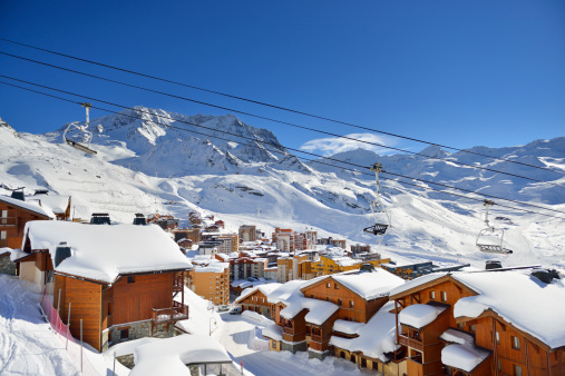 Ski Resort「Val Thorens」:スマホ壁紙(19)